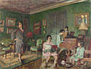 Edouard Vuillard: 'Madame André Wormser and her Children'