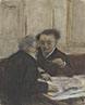 Hilaire-Germain-Edgar Degas: 'At the Café Châteaudun'