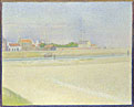 Georges Seurat: 'The Channel of Gravelines, Grand Fort-Philippe'