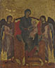 Cimabue: 'The Virgin and Child Enthroned with Two Angels'