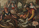Joachim Beuckelaer: 'The Four Elements: Water'