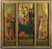Benvenuto di Giovanni, 'Altarpiece: The Virgin and Child with Saints', 1479