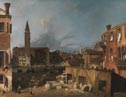 Canaletto, 'The Stonemason's Yard', about 1725