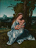 Style of Bernaert van Orley, The Virgin and Child in a Landscape