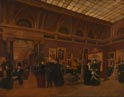 Giuseppe Gabrielli: 'The National Gallery 1886, Interior of Room 32'