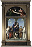 Francesco Francia: 'The Saint Anne Altarpiece from San Frediano, Lucca'
