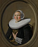 Frans Hals: 'Portrait of a Woman (Marie Larp?)'