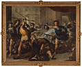 Luca Giordano, Perseus turning Phineas and his Followers to Stone