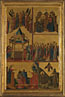 Giovanni da Rimini, Scenes from the Lives of the Virgin and other Saints, 1300-1305