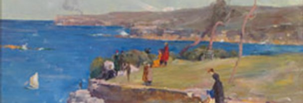 Detail from Arthur Streeton, Blue Pacific, 1890 © Private collection