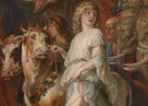 Detail from Rubens, A Roman Triumph, about 1630