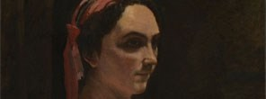 Detail from Jean-Baptiste-Camille Corot, Italian Woman, about 1870 © The National Gallery