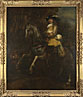 Rembrandt: 'Portrait of Frederick Rihel on Horseback'