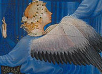 Detail from The Wilton Diptych