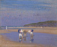 Philip Wilson Steer, Boulogne Sands (Children Shrimping), 1891