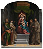 Garofalo, The Madonna and Child enthroned with Saints