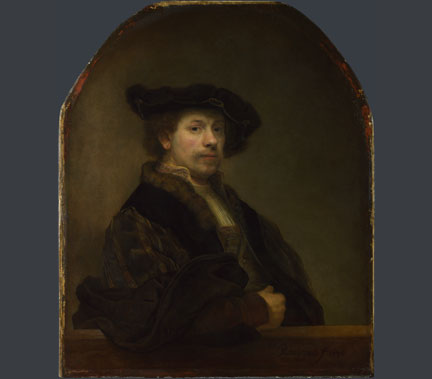 Rembrandt, 'Self Portrait at the Age of 34', 1640