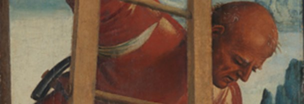 Detail from Luca Signorelli, 'Man on a Ladder', 1504-5