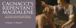 Detail from Guido Cagnacci, 'The Repentant Magdalene', after 1660 © Norton Simon Art Foundation
