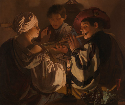 Hendrick ter Brugghen, 'The Concert', about 1626