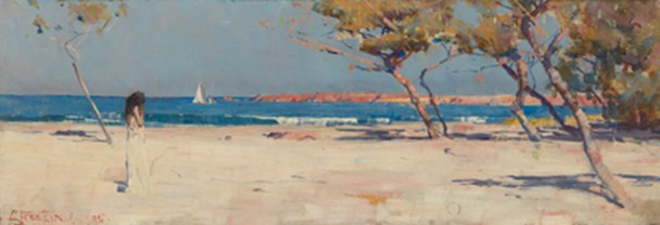 Arthur Streeton, 'Ariadne',1895, National Gallery of Australia, Canberra. Members Acquisition Fund 2016