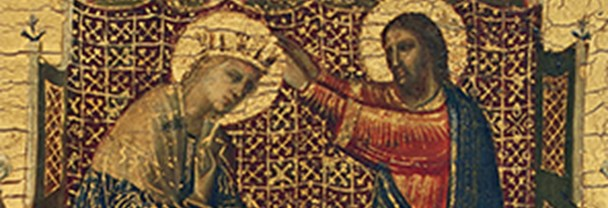 Detail from Giovanni da Rimini, Scenes from the Lives of the Virgin and other Saints, 1300–05