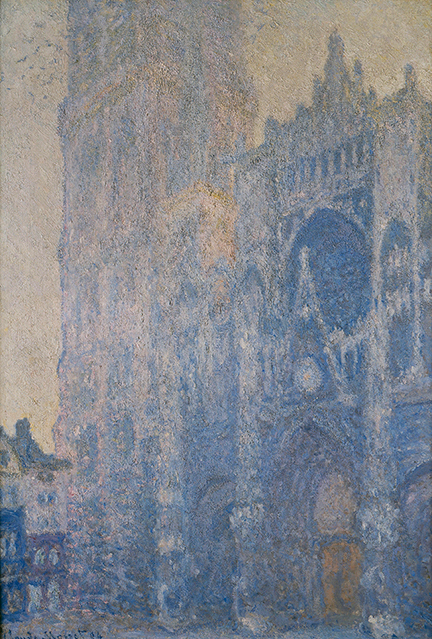 Claude Monet, 'Rouen Cathedral Façade and Tour d'Albane (Morning Effect)', 1894 © Museum of Fine Arts, Boston
