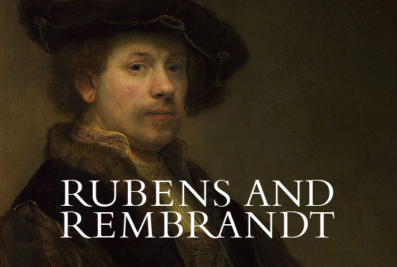 Detail from Rembrandt, Self Portrait at the Age of 34, 1640