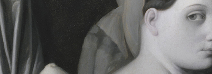 Detail from Jean-Auguste-Dominique Ingres and workshop, 'Odalisque in Grisaille' (detail), about 1824-34 © The Metropolitan Museum of Art / Art Resource / Scala, Florence