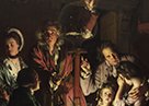 Detail from Joseph Wright 'of Derby', 'An Experiment on a Bird in the Air Pump', 1768