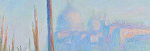 Crop of Claude Monet's 'The Grand Canal (Le Grand Canal)' painting