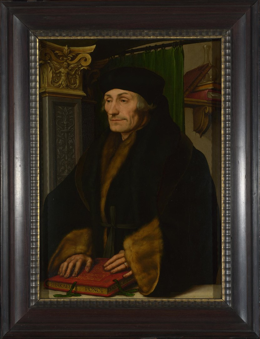Erasmus by Hans Holbein the Younger