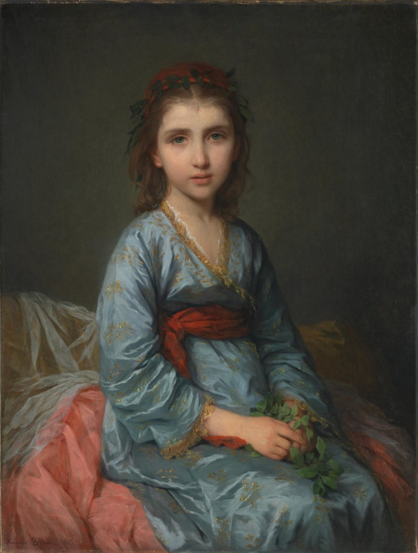 A Greek Captive by Henriette Browne