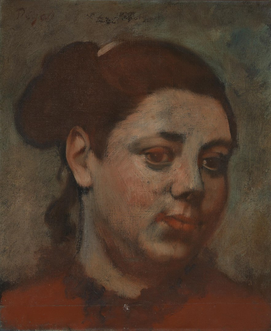 Head of a Woman by Hilaire-Germain-Edgar Degas