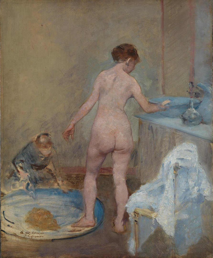 The Tub by Jean-Louis Forain