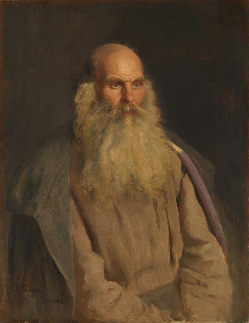Study of an Old Man by Ilya Repin