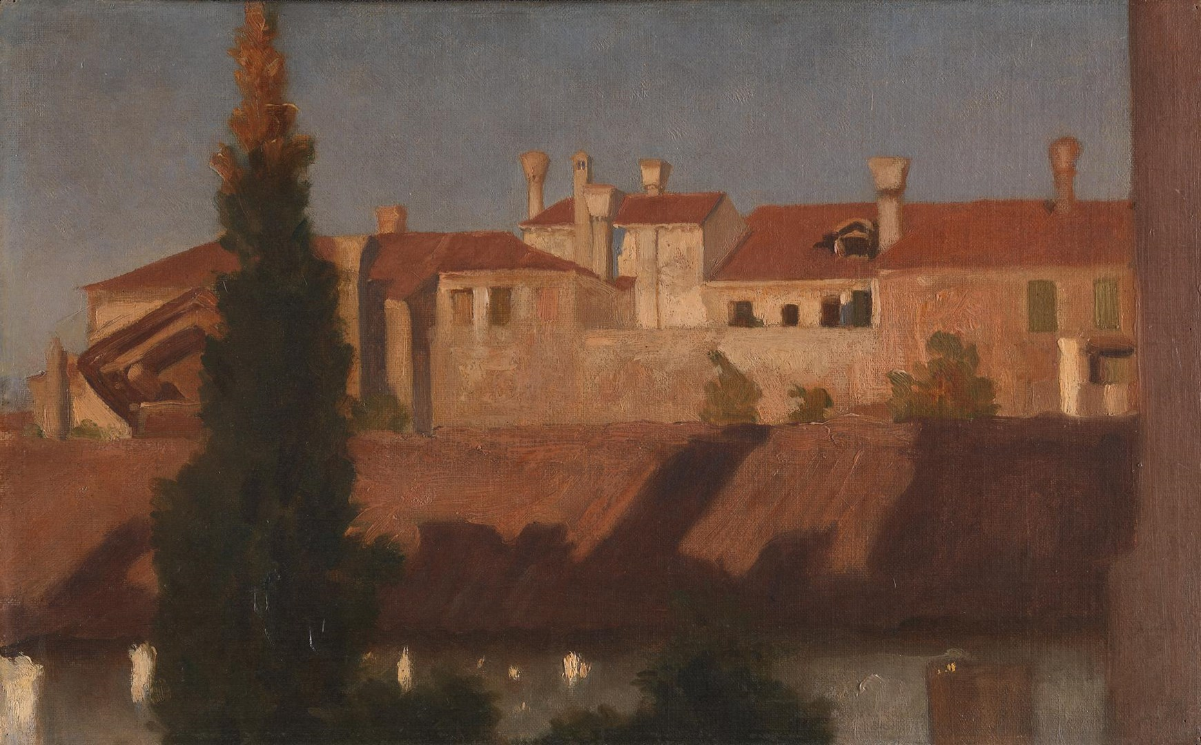 Houses in Venice by Frederic, Lord Leighton