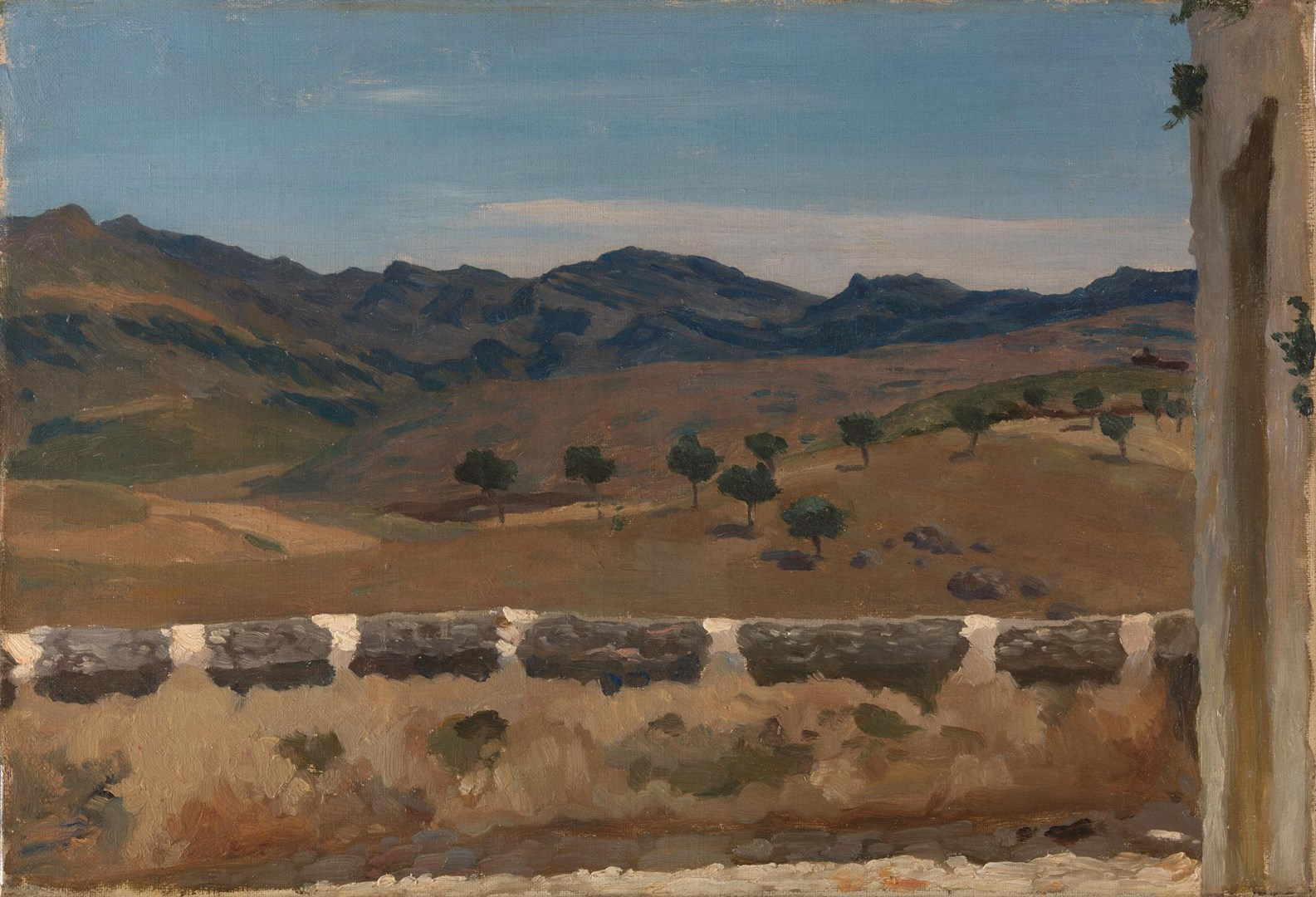 A View in Spain by Frederic, Lord Leighton
