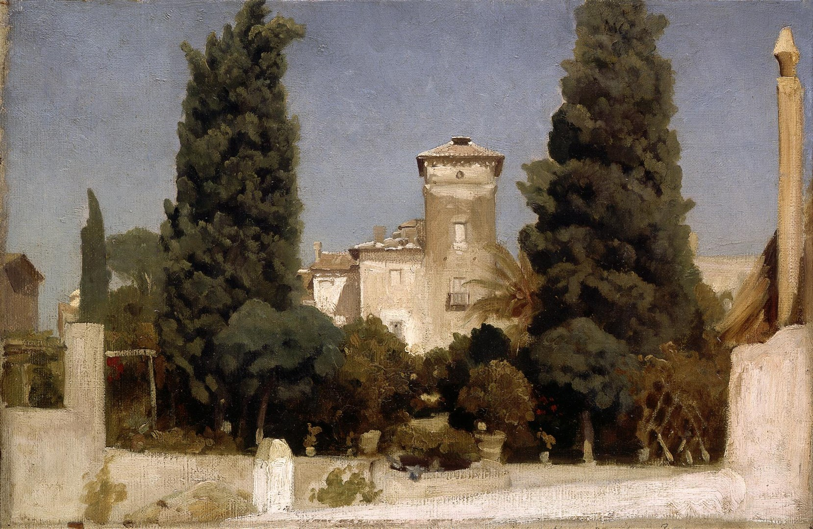 The Villa Malta, Rome by Frederic, Lord Leighton