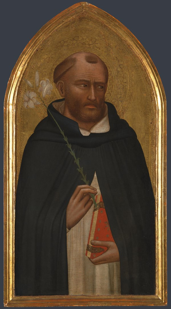 Saint Dominic by Bernardo Daddi