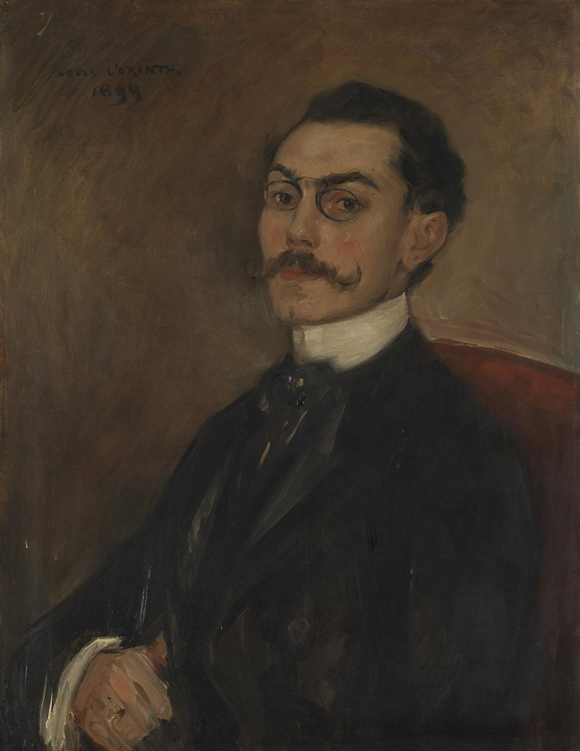 Portrait of Dr Ferdinand Mainzer by Lovis Corinth