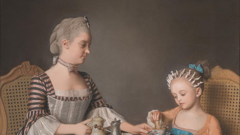 Jean-Etienne Liotard, 'The Lavergne Family Breakfast', 1754. © Private Collection