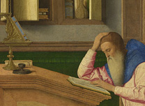 Vincenzo Catena, 'Saint Jerome in his Study'