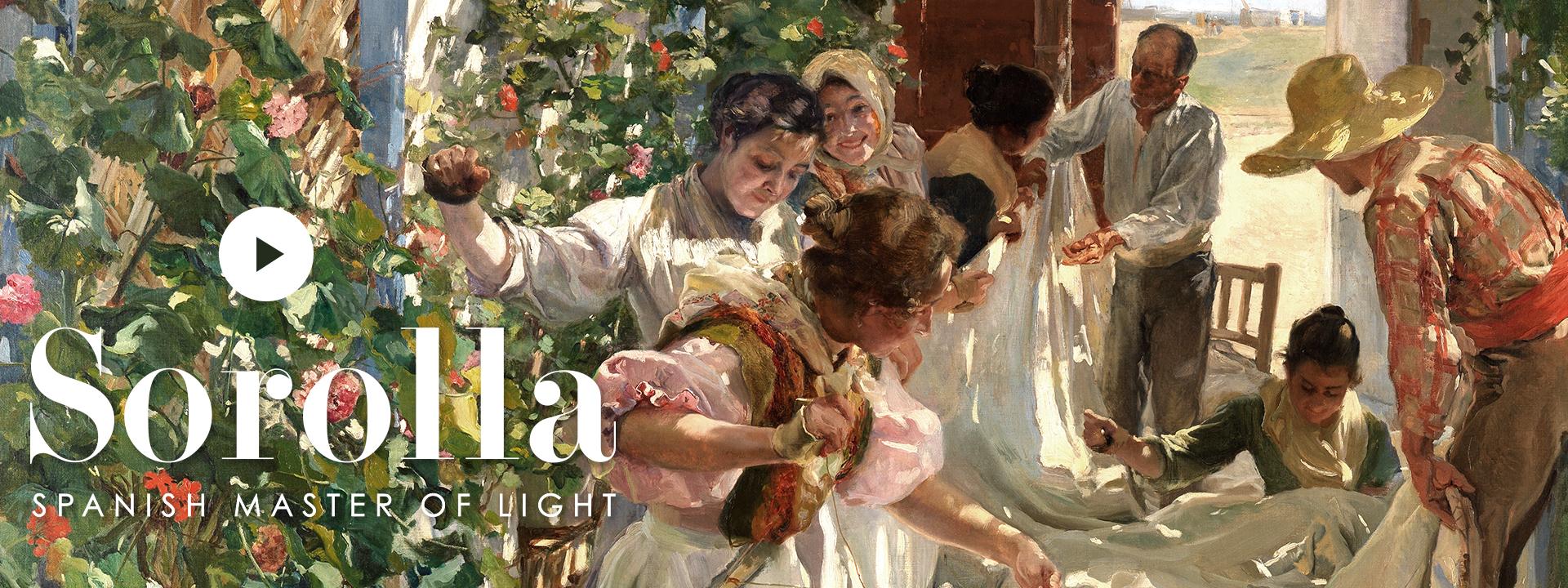 Sorolla: Spanish Master of Light | Archive | National Gallery, London