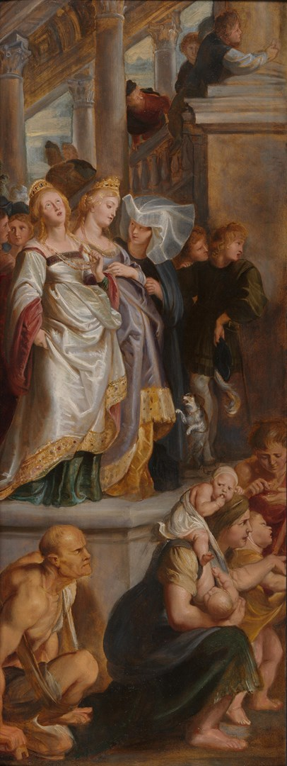 Three Female Witnesses by Peter Paul Rubens