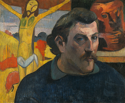 Paul Gauguin, 'Self Portrait as Christ', 1890-1, Musée d'Orsay, Paris (RF 1994-2) © RMN-Grand Palais (musée d'Orsay) / René-Gabriel Ojéda