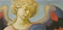 Detail of Workshop of Andrea del Verrocchio, 'Tobias and the Angel', about 1470-75
