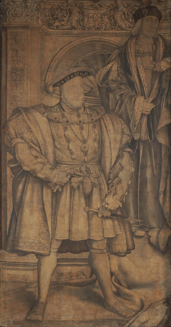 Henry VII and Henry VIII by Hans Holbein the Younger