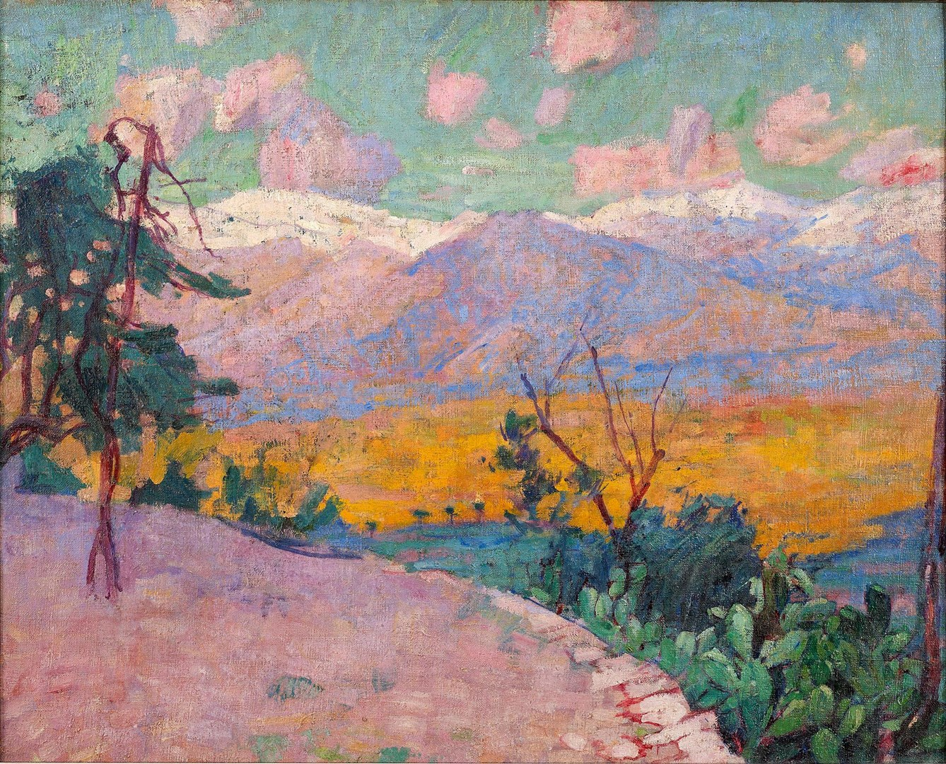 Les Terrasses de Monte Cassino by John Russell