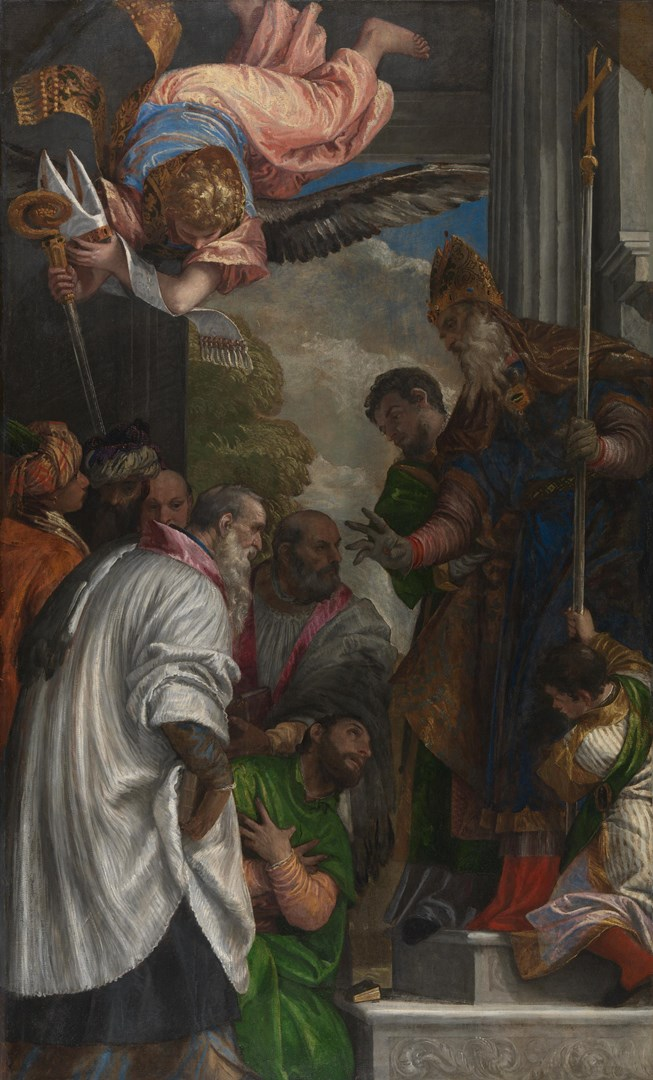 The Consecration of Saint Nicholas by Paolo Veronese